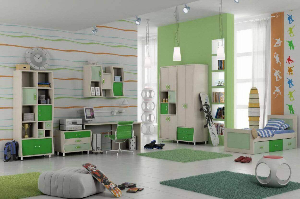 עיצוב חדר הילדים / נוער
