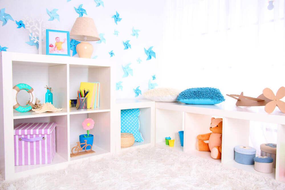 עיצוב חדרי תינוקות לבנות