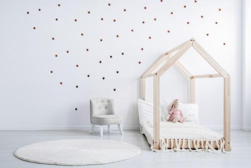 חדרי ילדים מעוצבים עם פרקט לבן - למה כדאי?