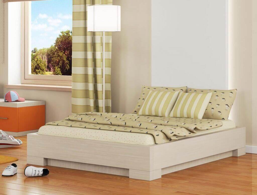 מיטות נוער - מיטת נוער דגם שחר