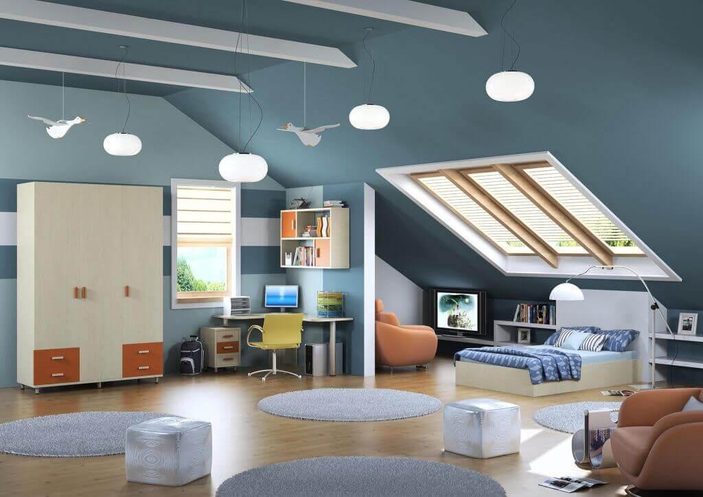 חדרי ילדים - חדר ילדים דגם ליאור