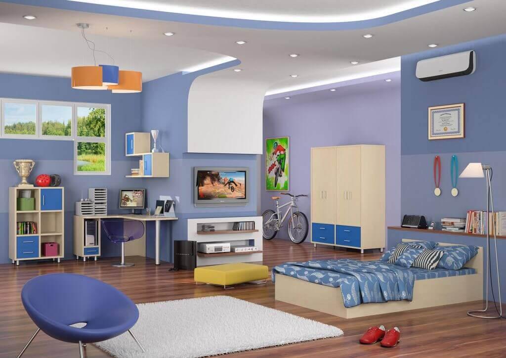 חדרי ילדים - חדר ילדים דגם גיא