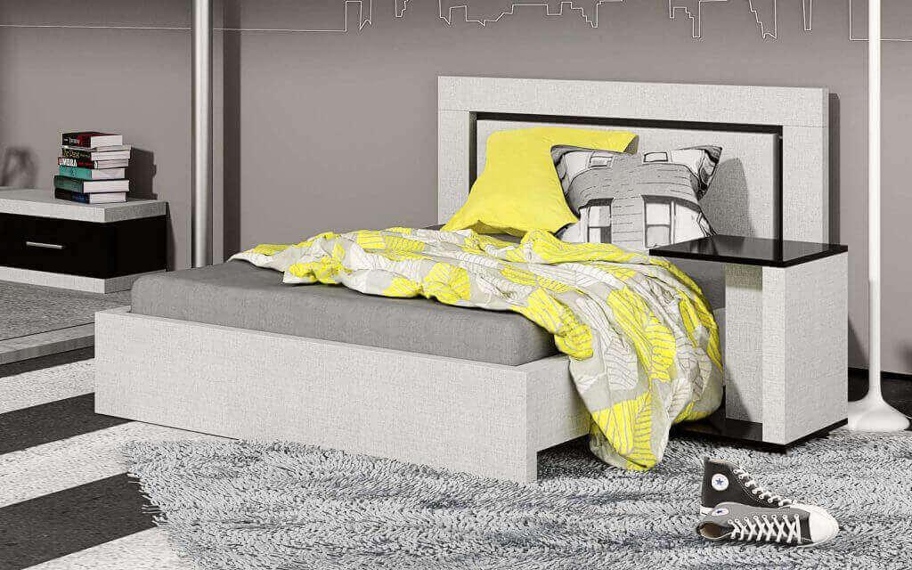 מיטות נוער - מיטת נוער דגם יונתן