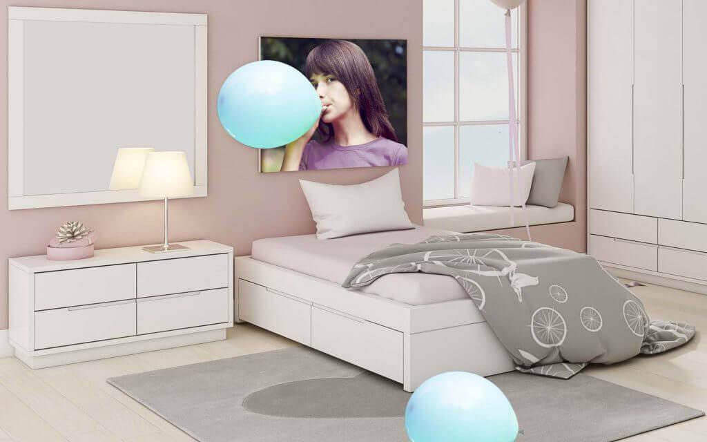 מיטות נוער - מיטת נוער דגם אלון